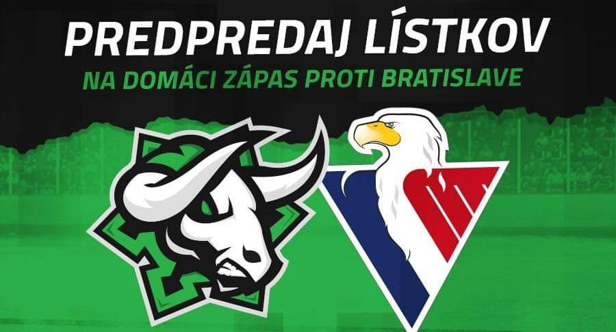Lístky na zápas proti HC Slovan Bratislava už v predaji