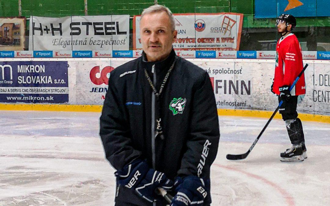 Chcem hrať moderný hokej. Dôležité bude upokojiť hráčov, tvrdí Miroslav Mosnár
