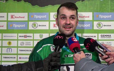 Zápas s Nitrou hodnotí Patrik Števuliak