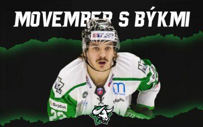 Movember výzva s Býkmi