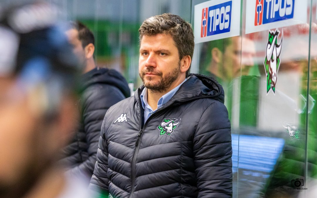 Trénerská otázka vyriešená: Gergely Majoross povedie Býkov aj v nasledujúcej sezóne